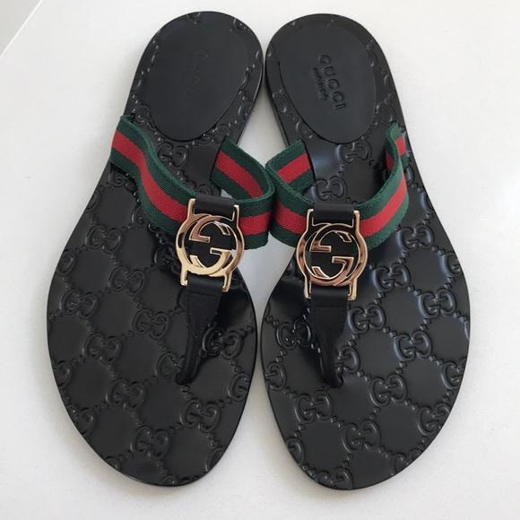 9902d2705635 Gucci Shoes - Gucci Flip Flop Sandal